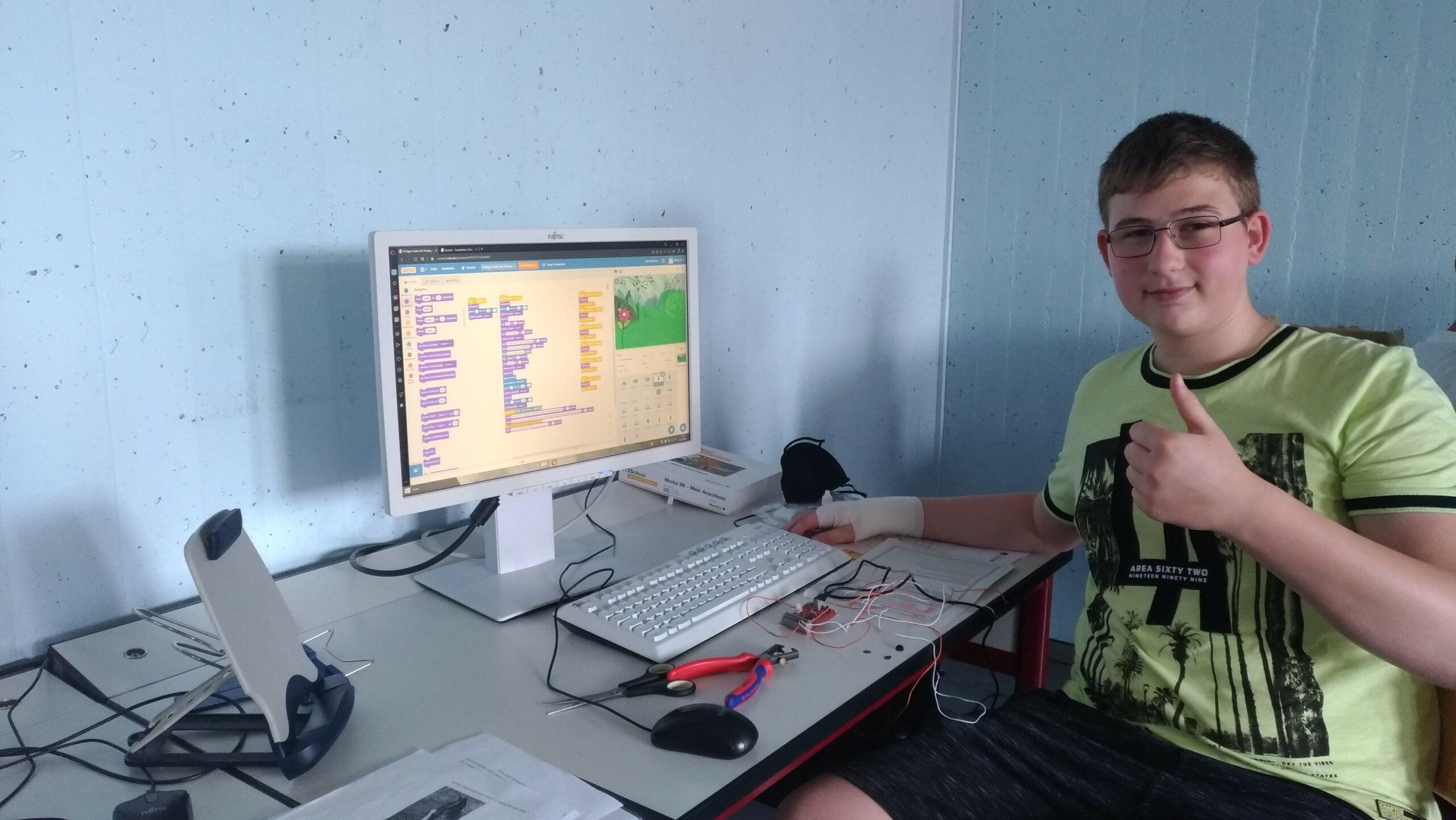 "Projekttage ""IT2School"" in Kooperation mit der IJF an der Wolffskeel Realschule"